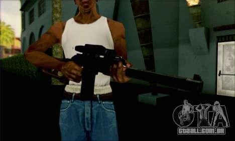 VSS Vintorez-tático para GTA San Andreas segunda tela