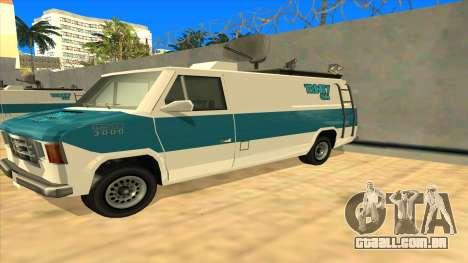News Van HQ para GTA San Andreas