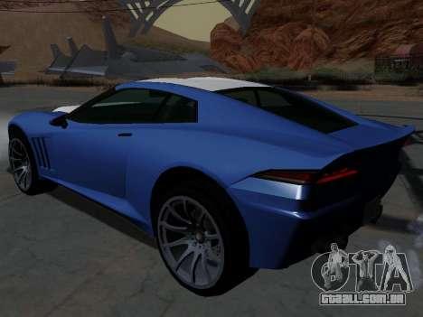 Coquete de GTA 5 para GTA San Andreas esquerda vista