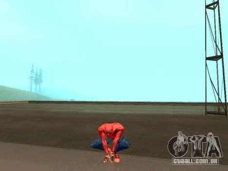 Agachar-se como o homem-aranha para GTA San Andreas terceira tela