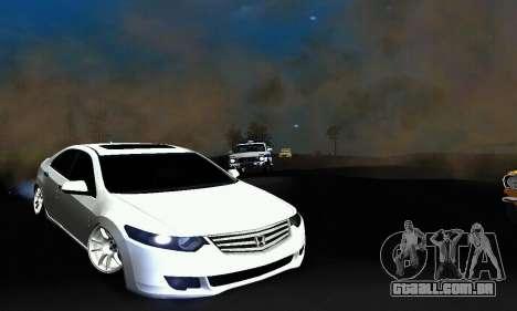Honda Accord Tuning para GTA San Andreas esquerda vista