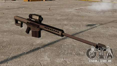 Rifle de sniper Barrett M107 para GTA 4