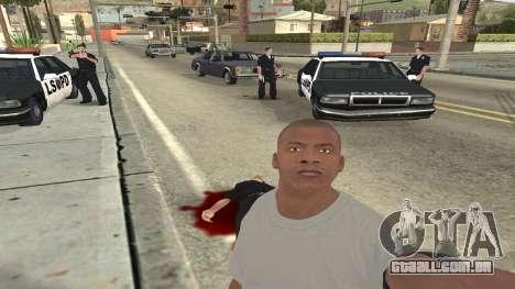 Trevor, Michael, Franklin para GTA San Andreas nono tela