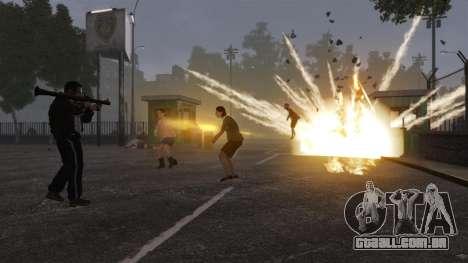 Novo Zombie-script para GTA 4 por diante tela