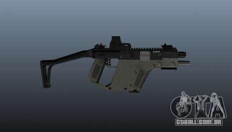 Pistola-metralhadora Kriss Super V para GTA 4 terceira tela