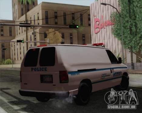 Ford F150 Police para GTA San Andreas esquerda vista