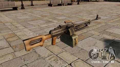 Metralhadora Kalashnikov para GTA 4 segundo screenshot