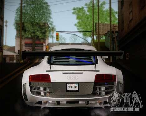 Audi R8 LMS Ultra v1.0.1 DR para GTA San Andreas vista direita