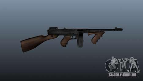 Pistola-metralhadora Thompson M1928 para GTA 4 terceira tela