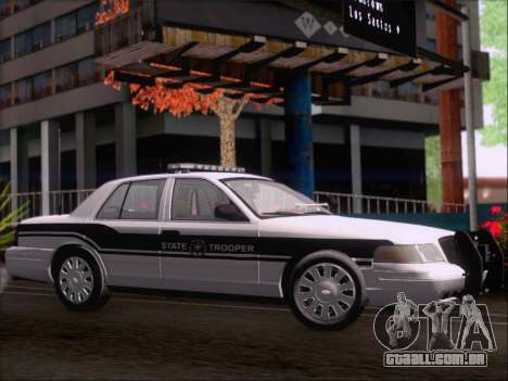 Ford Crown Victoria San Andreas State Trooper para GTA San Andreas vista traseira