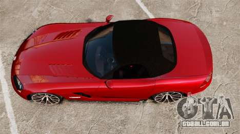 Dodge Viper SRT-10 2003 para GTA 4 vista direita