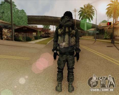 Russian Engineer para GTA San Andreas terceira tela