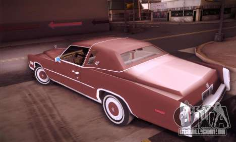 Cadillac Eldorado 1978 Coupe para GTA San Andreas esquerda vista