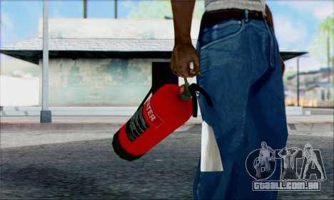 Novo extintor de incêndio 2 para GTA San Andreas segunda tela