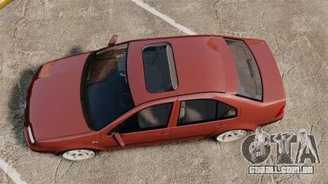 Volkswagen Bora VR6 2003 para GTA 4 vista direita