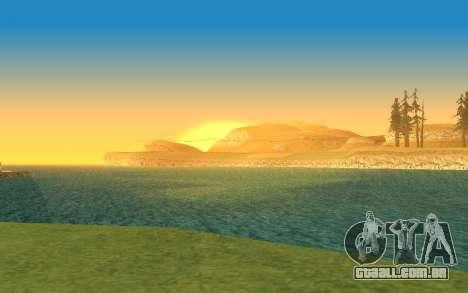 Timecyc v2.0 para GTA San Andreas quinto tela