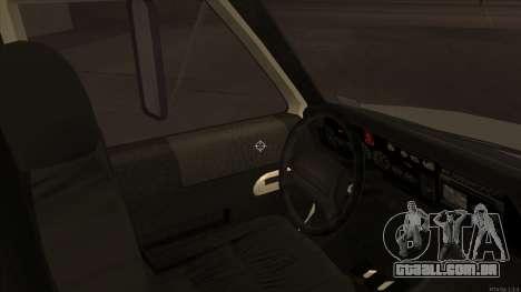 Ambulance HD from GTA 3 para GTA San Andreas vista traseira