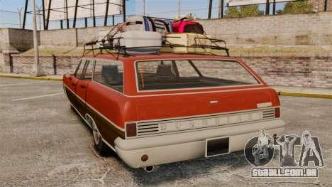 GTA V Dundreary Regina para GTA 4 traseira esquerda vista