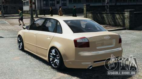 Audi S4 2004 para GTA 4 esquerda vista