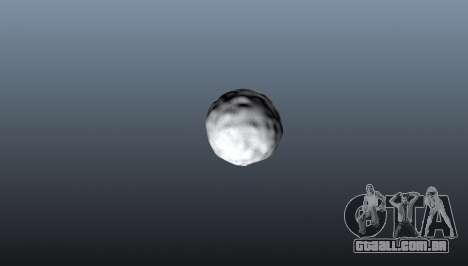 Bola de neve de romã para GTA 4