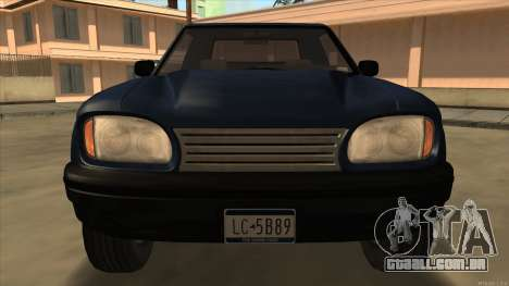 Bobcat HD from GTA 3 para GTA San Andreas esquerda vista