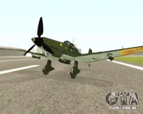 Junkers Ju-87 Stuka para GTA San Andreas
