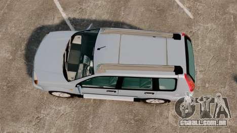 Nissan X-Trail para GTA 4 vista direita