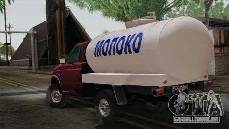 UAZ-2360 leite para GTA San Andreas esquerda vista
