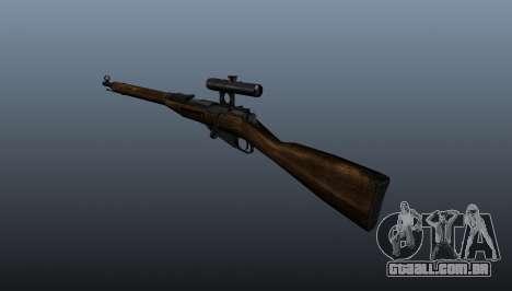 Mosin-Nagant para GTA 4 segundo screenshot
