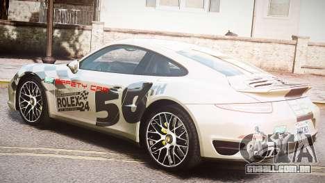 Porsche 911 Turbo 2014 para GTA 4 vista interior