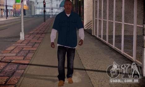 Franklin para GTA San Andreas por diante tela