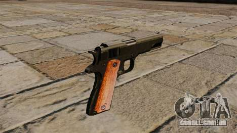 Pistola Colt M1911 Black Edition para GTA 4 segundo screenshot