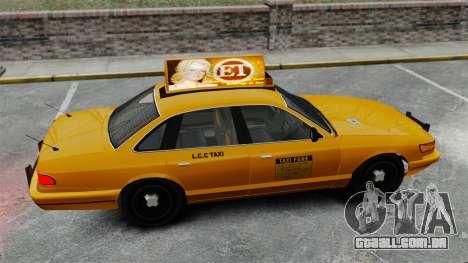 Real publicidade em táxis e autocarros para GTA 4 décima primeira imagem de tela