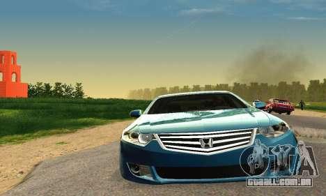 Honda Accord Tuning para GTA San Andreas vista direita