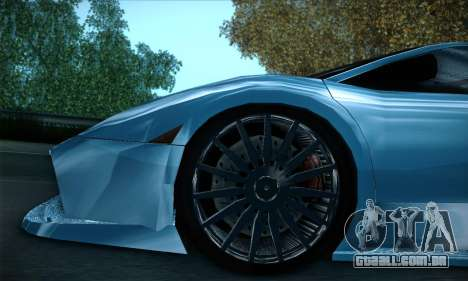 Lamborghini Murcielago GT Coloured para GTA San Andreas interior