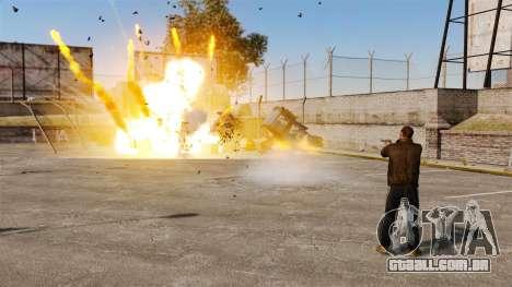 Foguetes de tiros para GTA 4 terceira tela