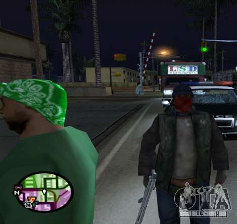 Vagabundos para GTA San Andreas terceira tela