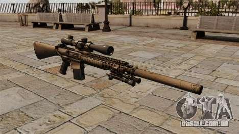 O rifle sniper M110 para GTA 4