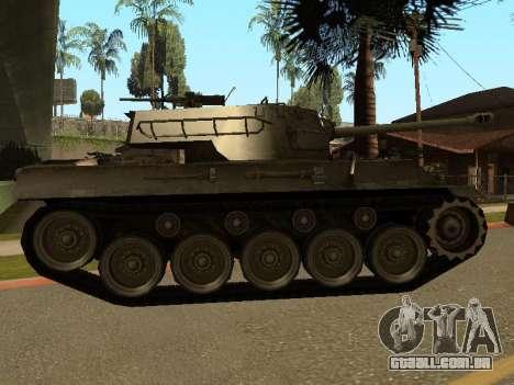M18-Hellcat para GTA San Andreas traseira esquerda vista