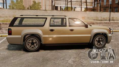 GTA V Declasse Granger 3500LX para GTA 4 esquerda vista