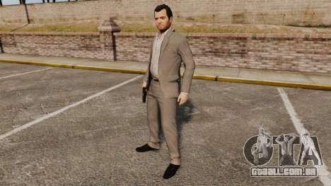Michael de Santa para GTA 4 sexto tela