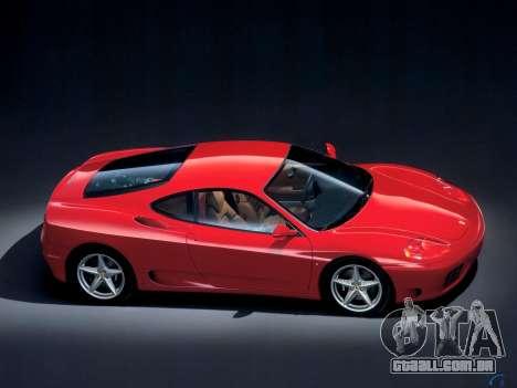 Som de um motor de Ferrari para GTA 4 terceira tela