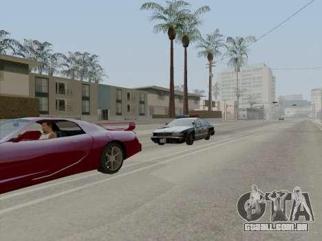 Chevrolet Caprice LAPD 1991 para GTA San Andreas vista traseira