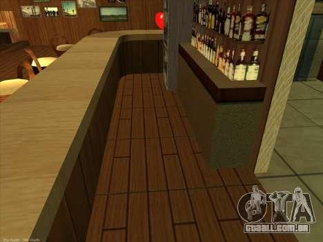 Novas texturas para interior para GTA San Andreas por diante tela