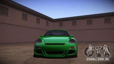 Porsche 911 TT Ultimate Edition para GTA San Andreas vista traseira