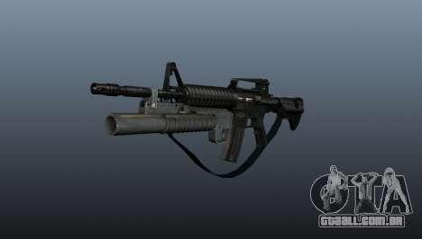 Carabina automática M4A1 v1 para GTA 4