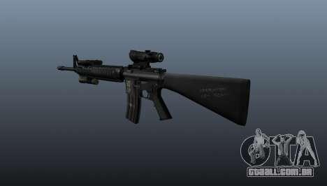 Fuzil M16A4 AEG para GTA 4 segundo screenshot