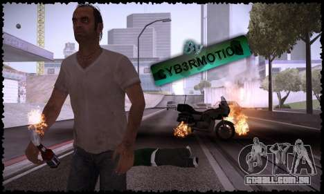 Trevor, Michael, Franklin para GTA San Andreas quinto tela