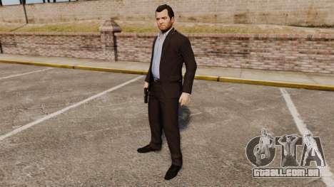 Michael de Santa para GTA 4 quinto tela