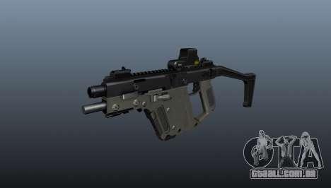 Pistola-metralhadora Kriss Super V para GTA 4